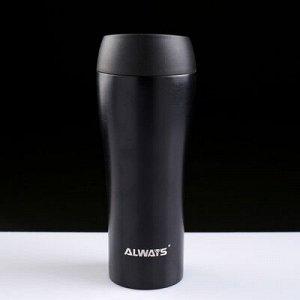 """Термокружка """"Always"""", 450 мл, сохраняет тепло 8 ч, МИКС, 21 ? 7.5 см"""