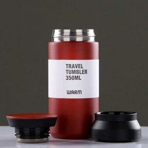 """Термос """"Traveler"""", 350 мл, сохраняет тепло 8 ч, микс, 6.5х16.5 см"""