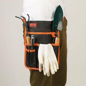 Поясная сумка для садового инструмента, 6 карманов