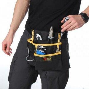 Поясная сумка для садового инструмента, на ремне, 3 кармана