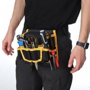 Поясная сумка для садового инструмента, на ремне, 8 карманов