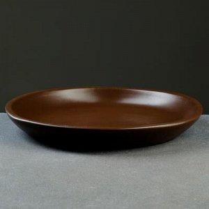Подставка для кашпо 6 л (D=24 см) подходит к кашпо 7л ;8л; коричневый