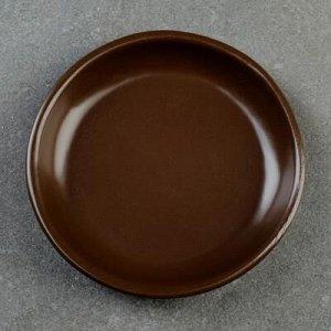 Подставка для кашпо 0,4 л (D=11,5 см) подходит к кашпо 0,35л; 0,4л; 0,75л; коричневый