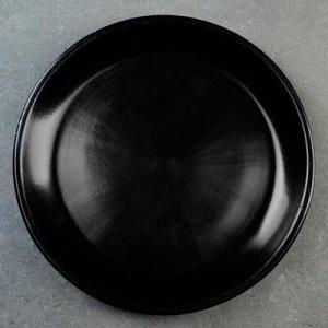 Подставка для кашпо 6 л (D=24 см) подходит к кашпо 7л ;8л; черный