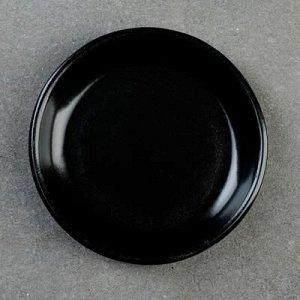 Подставка для кашпо 0,4 л (D=11,5 см) подходит к кашпо 0,35л; 0,4л; 0,75л; чёрный