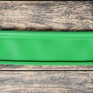 Лента бордюрная, 0.11 ? 10 м, толщина 1 мм, пластиковая, зелёная, KANTA