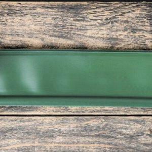 Лента бордюрная, 0.11 ? 10 м, толщина 1 мм, пластиковая, оливковая, KANTA