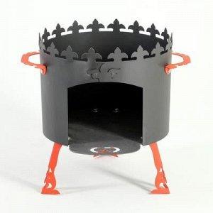 """Печь под казан """"Ронда"""" 2 мм, диаметр 40 см"""