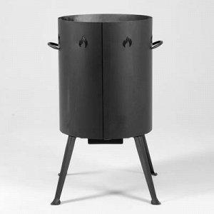Печь под казан 20 л, толщина металла 2 мм, диаметр 37,7 мм