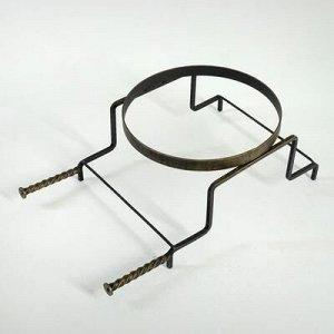 """Подставка под казан """"Огонь"""" диаметр 36 см, 10-12 л"""