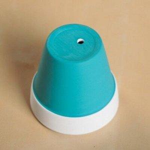 Кашпо керамическое цвет микс 6*6*6 см