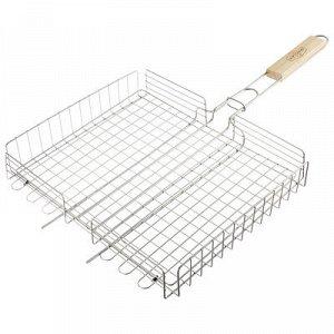 Решётка-гриль для курицы Maclay, нержавеющая сталь, размер 37 ? 31,5 см