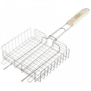 Решётка-гриль для курицы Maclay, нержавеющая сталь, размер 22 ? 20,5 см