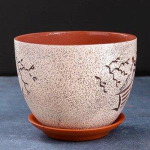 Горшок цветочный япония 2,3 л