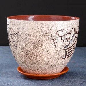 Горшок цветочный япония 3,4 л