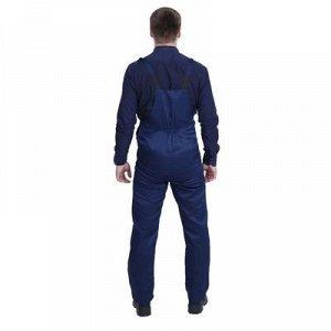 Полукомбинезон, размер 52-54, рост 170-176 см, цвет синий/васильковый