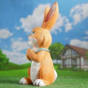 """Садовая фигура """"Заяц с сумкой"""" 28х54см"""