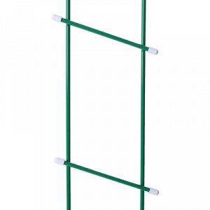 Шпалера, 140 ? 17 ? 1 см, металл, зелёная, «Лестница»
