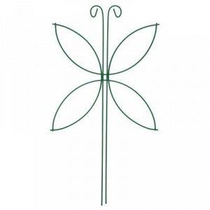 Шпалера, 44 ? 24 ? 0.3 см, металл, зелёная, «Мотылёк»