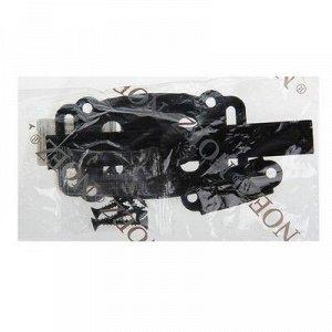 Задвижка дверная ЗД-100-Пл-S, цвет черный матовый