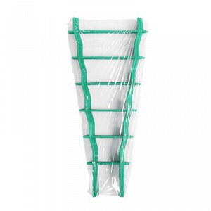 Шпалера, 47 ? 19 ? 0.5 см, пластик, зелёная