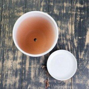 Горшок цветочный Одуванчик 2,5л с подставкой