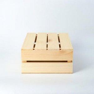Кашпо деревянное 30?20?10 см