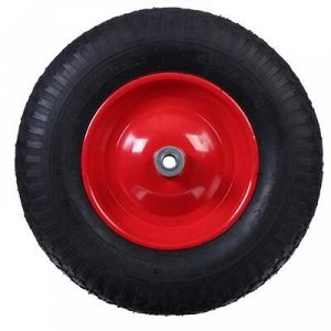 Колесо пневматическое 4.00-8, d = 380 мм, d ступицы = 16 мм
