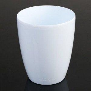 Горшок «Орхидея», 1,3 л, цвет белый