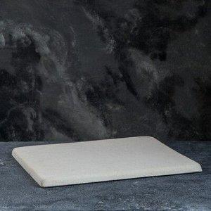 Камень для выпечки прямоугольный, 32х38х2 см