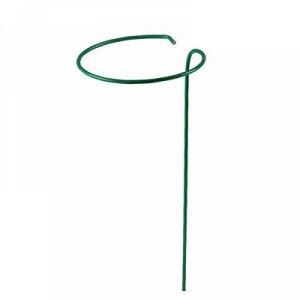 Кустодержатель для клубники, d = 15 см, h = 25 см, ножка d = 0,3 см, металл, зелёный