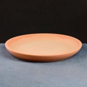 Поддон керамический терракот № 6 , диаметр 20,5 см