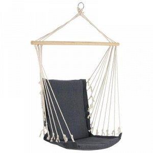 Гамак-кресло со спинкой, 50 х 96 см, хлопок, цвет МИКС