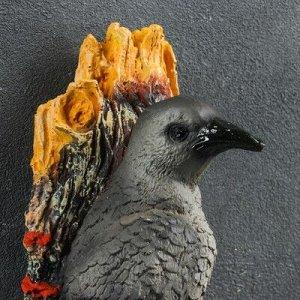 """Подвесной декор """"Ворона на суку"""" 26см"""