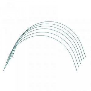Комплект дуг для парника, прут в кембрике, 1,7 м, d = 5 мм, набор 6 шт.