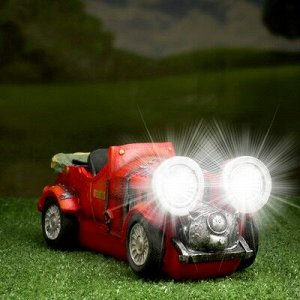"""Садовый светильник """"Кабриолет"""" на солнечной батарее, 12 см"""