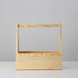 Кашпо деревянное 30?14?30 см