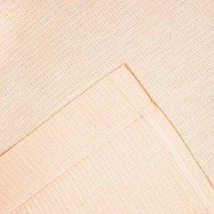 Халат вафельный запашной женский р-р 44, цв.Персик, 160 гр/м,Хл.100%