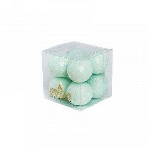 Набор бурлящих шаров для ванны Mint balls, 160 г (8 шт*20 г)