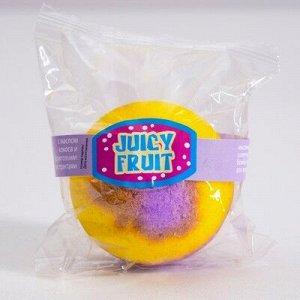 Бурлящий шар для ванны Spa by Lara Juicy fruit с кокосовым маслом, 140 г
