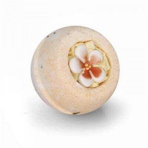 Шарик-десерт для ванн «Абрикосовый цвет», 140 г