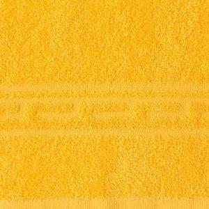 Полотенце Ocean 70х130 см, желтый, хлопок 100%, 360 г/м2