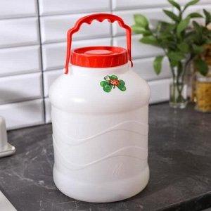 Бидон, 8 л Состав: ПластикИндивидуальная упаковка: Без упаковкиВес брутто: 320 гНабор: НетЦвет: Белый, КрасныйОбъём, л: 8Рисунок: ДаМатериал: ПластикПодходит для пищевых продуктов: Да