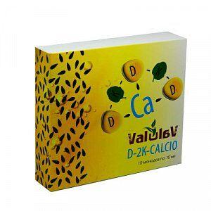 ValuLav D-2K-CALCIO Экстраординарная формула источник биодоступных витаминов D3,K1,K3 и кальция.