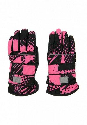 Перчатки текстильные для девочек