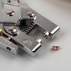 Щипцы для установки блочек, с блочками, d = 4 мм, цвет МИКС