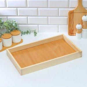 Поднос деревянный для завтрака 50?30 см