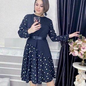 Платье ТКАНЬ БАРБИ И СОФТ