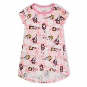 Платье Домашнее Модницы Розовый