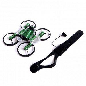 Квадрокоптер радиоуправляемый «Трансформер», управление жестами, МИКС